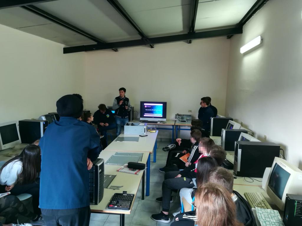 Service Learning anche alla Sauro di Castelvecchio