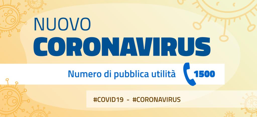 Aggiornamenti emergenza epidemiologica Covid-19