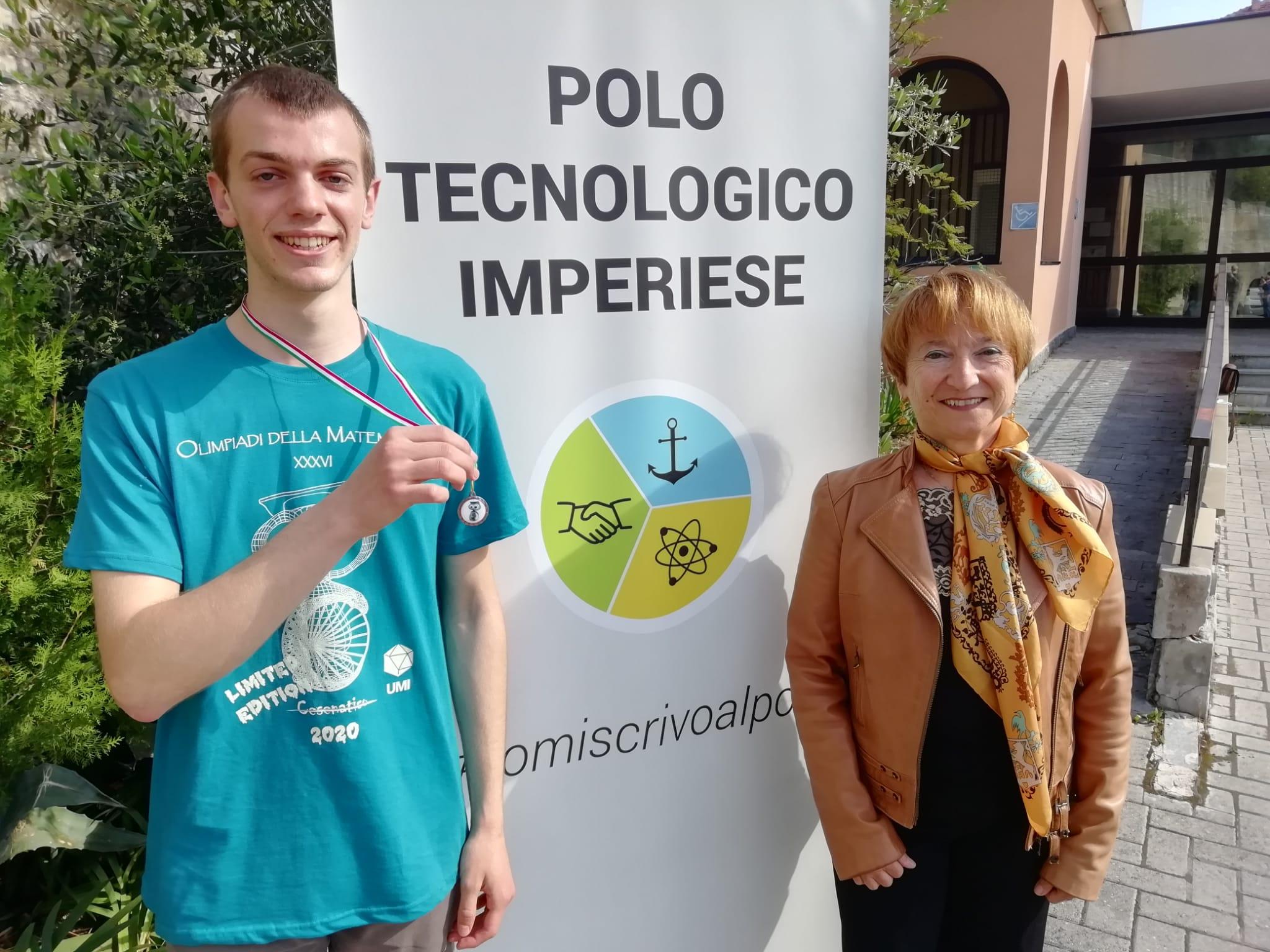 Olimpiadi di Matematica, Francesco Scarrone è sul podio!